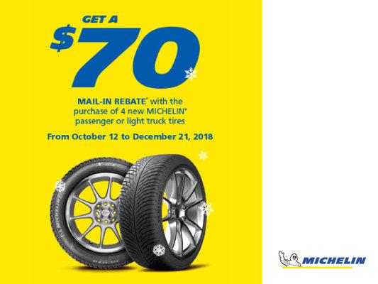 Michelin Tire Rebate >> Michelin Tire Rebate Audi Brampton Promotion In Brampton