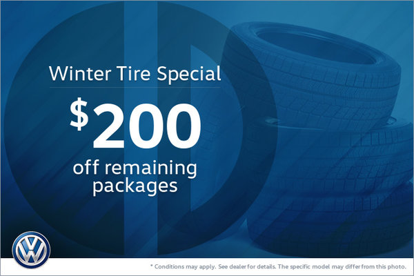 401 Dixie Volkswagen >> Get 200 Off Remaining Winter Tire Packages 401 Dixie