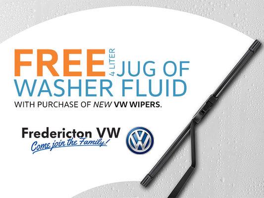 FREE 4 Liter Jug of Washer Fluid