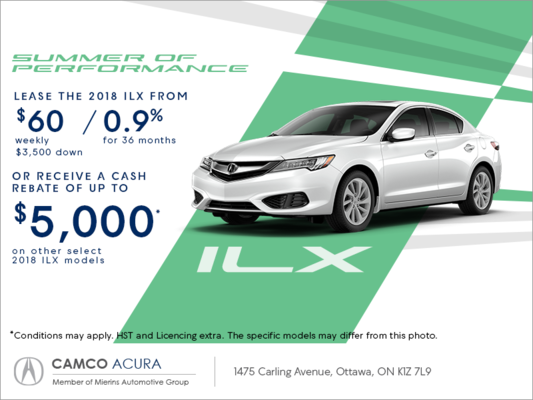 2018 acura ilx mierins automotive group promotion in ottawa