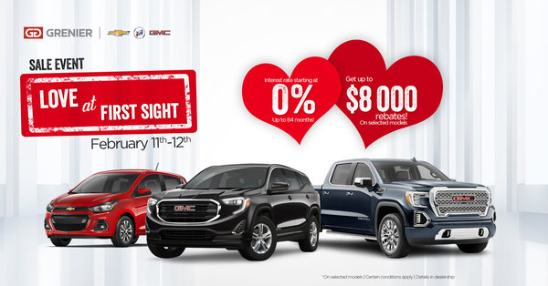Sales Event Love At First Sight February 11th 12th