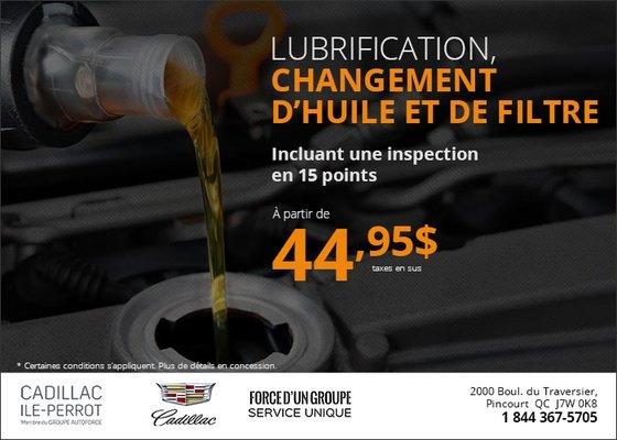 Changement D Huile >> Lubrification Changement D Huile Et De Filtre A Partir De