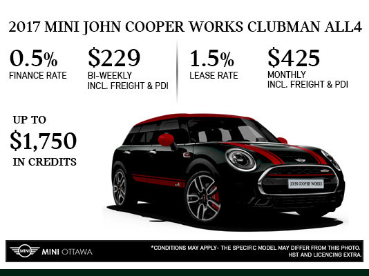 2017 Mini John Cooper Works Clubman All4 Mierins Automotive Group