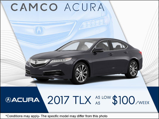 lease the 2017 acura tlx at camco acura mierins automotive group