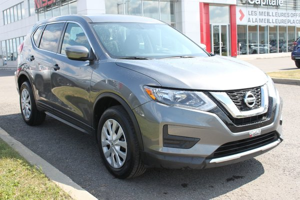 Nissan Rogue S*AWD*AUTO*BANCS CHAUFFANTS*CAMERA*AIR CLIM* 2017
