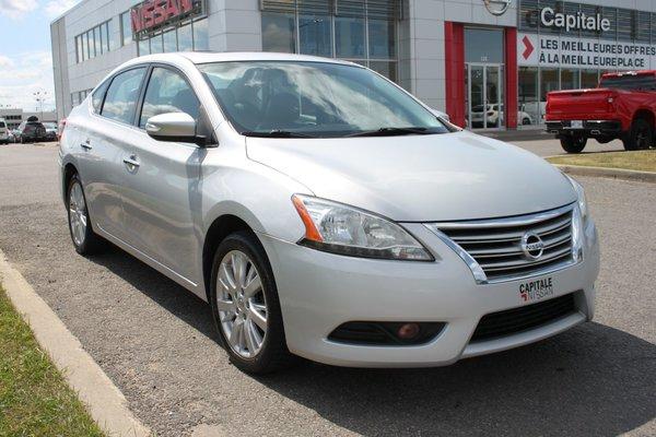 Nissan Sentra SL*AUTO*CUIR*TOIT*GPS*CAMERA*PUSH START* 2013