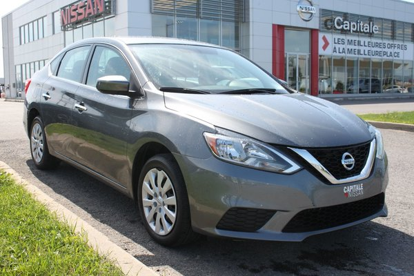 Nissan Sentra S*BLUETOOTH*CRUISE*GR.ELECTRIQUE! 2017