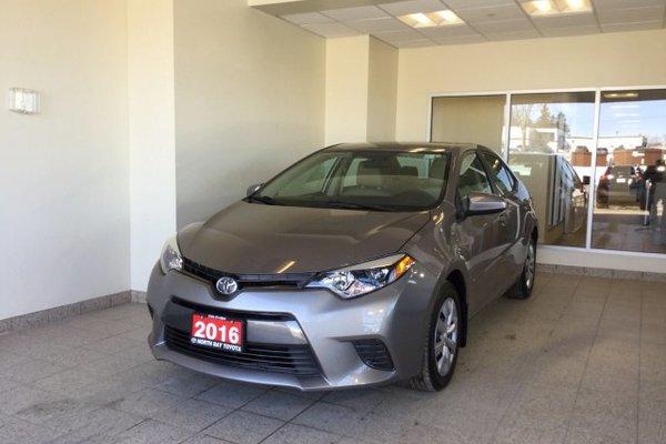2016 Toyota Corolla 4dr Sdn CVT LE
