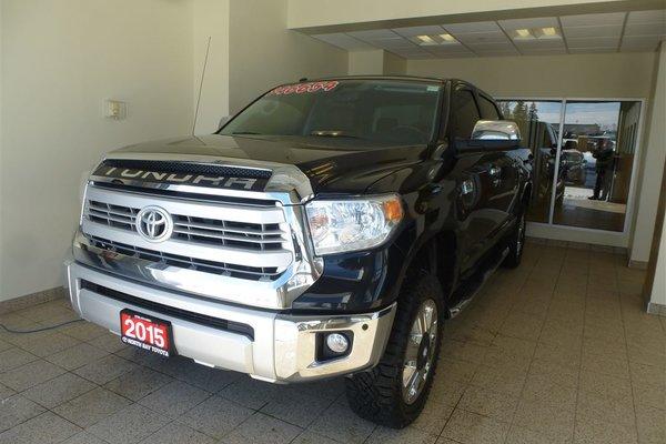2015 Toyota Tundra PLATINUM 1794 CREWMAX