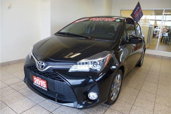 2015 Toyota Yaris SE PKG
