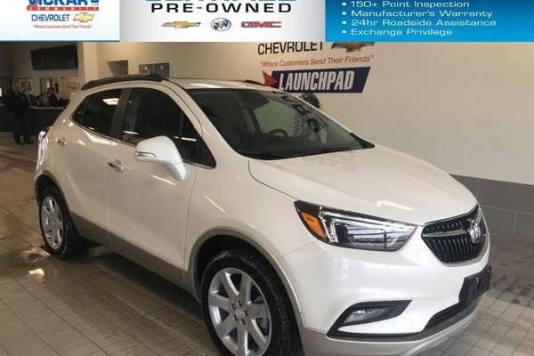 2018 Buick Encore Essence  AWD, NAVIGATION, SUNROOF, BLIND SPOT DETECTION  - $193.02 B/W