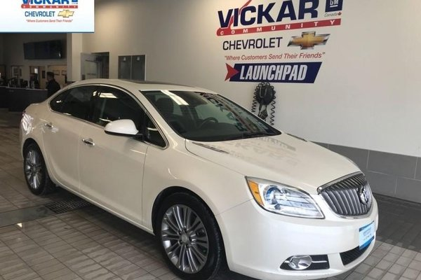 2014 Buick Verano BOSE AUDIO, SUNROOF, NAVIGATION, LEATHER  - $113.52 B/W