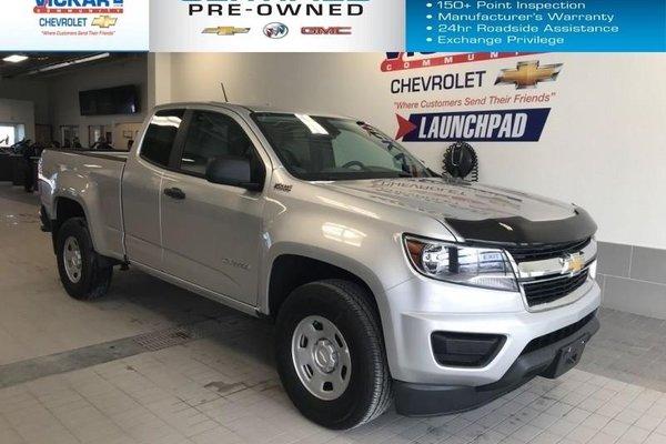 2015 Chevrolet Colorado RWD, EXTENDED CAB, SHORT BOX  - $144.46 B/W