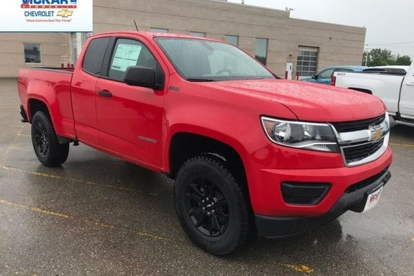 2018 Chevrolet Colorado Work Truck  -  Towing Package - $192.60 B/W