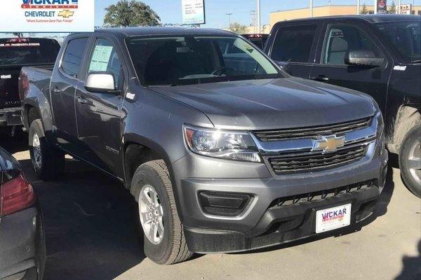 2018 Chevrolet Colorado Work Truck  - $208.87 B/W