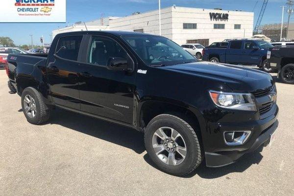 2018 Chevrolet Colorado Z71  - Bluetooth -  Heated Seats - $295.40 B/W