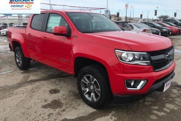 2018 Chevrolet Colorado Z71  - $276.38 B/W