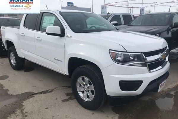 2018 Chevrolet Colorado Work Truck  - $209.95 B/W