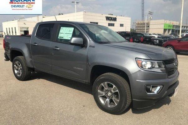 2018 Chevrolet Colorado Z71  - $236.74 B/W