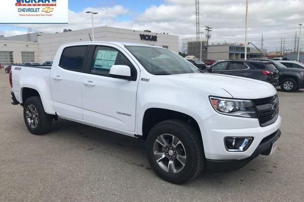 2018 Chevrolet Colorado Z71  - $235.49 B/W