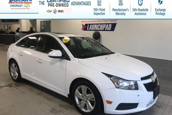 2014 Chevrolet Cruze Diesel  LEATHER SEATS, NAVIGATION, SUNROOF  - $105.99 B/W