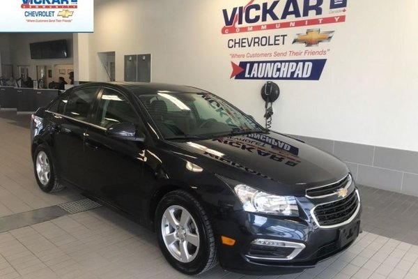 2015 Chevrolet Cruze PIONEER SOUND SYSTEM, LEATHER INTERIOR, BACK UP CAMERA  - $121.38 B/W