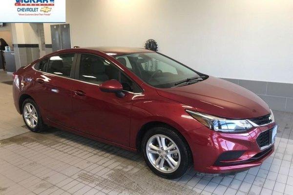 2017 Chevrolet Cruze LT  -Sunroof/Remote Start - $131.19 B/W