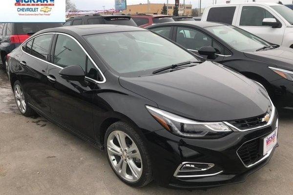 New 2018 Chevrolet Cruze Premier Leather Seats 203 04 B W Black