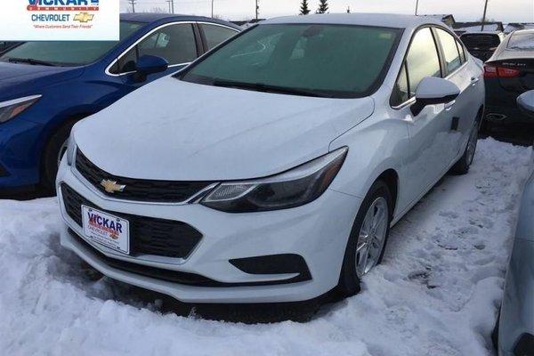 2018 Chevrolet Cruze LT  - Bluetooth -  Heated Seats - $151.08 B/W