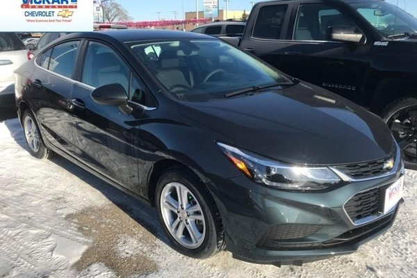 2018 Chevrolet Cruze LT  - Bluetooth -  Heated Seats - $156.51 B/W