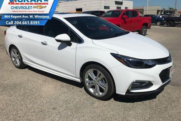 2018 Chevrolet Cruze Premier  - $203.59 B/W