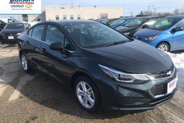 2018 Chevrolet Cruze LT  - Bluetooth -  Heated Seats - $180.82 B/W