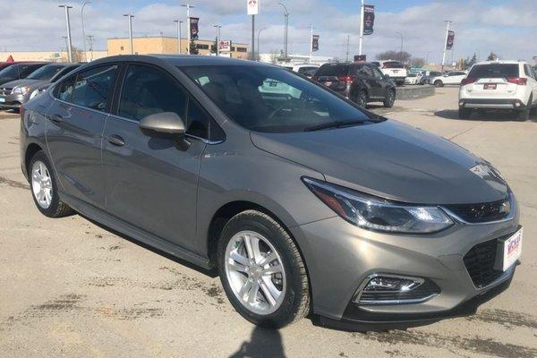 2018 Chevrolet Cruze LT  - Bluetooth -  Heated Seats - $158.39 B/W