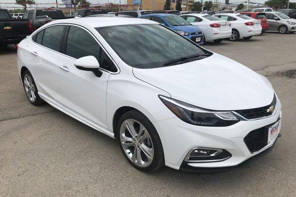 2018 Chevrolet Cruze Premier  - $160.45 B/W