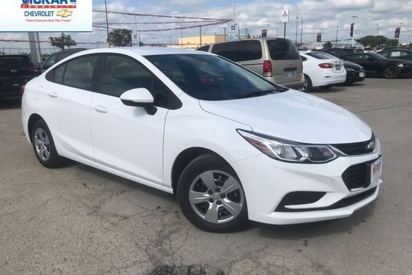 2018 Chevrolet Cruze LS  - $135.24 B/W