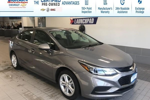 2018 Chevrolet Cruze LT REMOTE START, BOSE, SUNROOF !!!  - $125.80 B/W