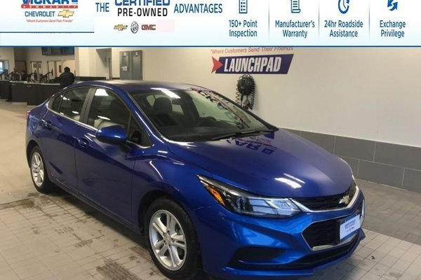 2018 Chevrolet Cruze LT REMOTE START, BOSE, SUNROOF !!!  - $128.45 B/W