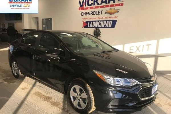 2018 Chevrolet Cruze LS    AUTOMATIC, BACK UP CAMERA, LOW KILOMETERS  - $130.55 B/W