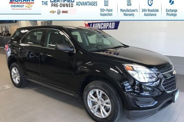 2017 Chevrolet Equinox LS  AWD, BLUETOOTH, REAR VIEW CAMERA  - $154.07 B/W