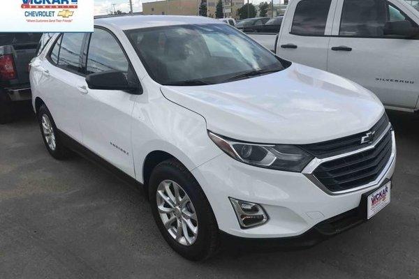 2018 Chevrolet Equinox LS  - Bluetooth -  Heated Seats - $163.38 B/W