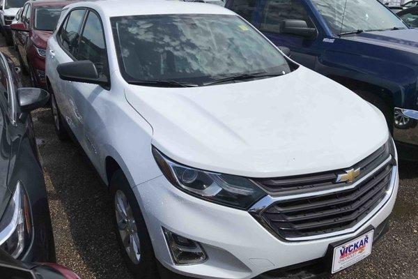 2018 Chevrolet Equinox LS  - Bluetooth -  Heated Seats - $164.90 B/W