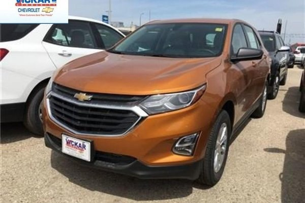 2018 Chevrolet Equinox LS  - Bluetooth -  Heated Seats - $180.52 B/W