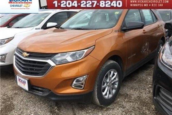 2018 Chevrolet Equinox LS  - Bluetooth -  Heated Seats - $202.38 B/W