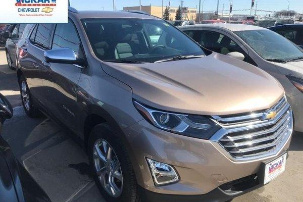 2018 Chevrolet Equinox Premier  - Leather Seats - $222.38 B/W