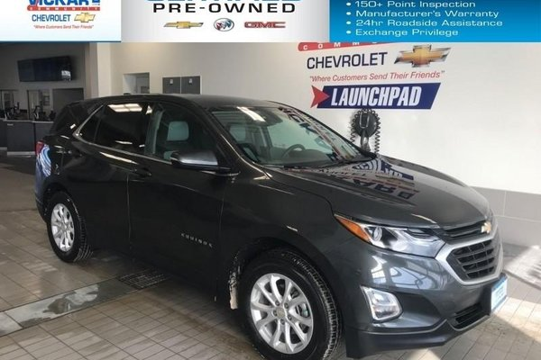 2018 Chevrolet Equinox LT  AWD, REMOTE START, HEATED SEATS, POWER HATCH  - $194.52 B/W