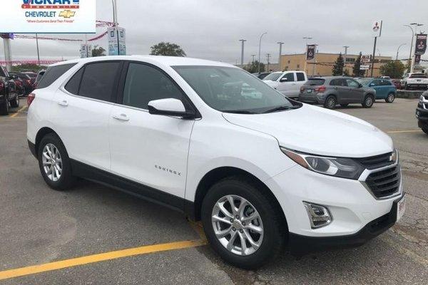 New 2019 Chevrolet Equinox LT - $182.32 B/W Summit White ...