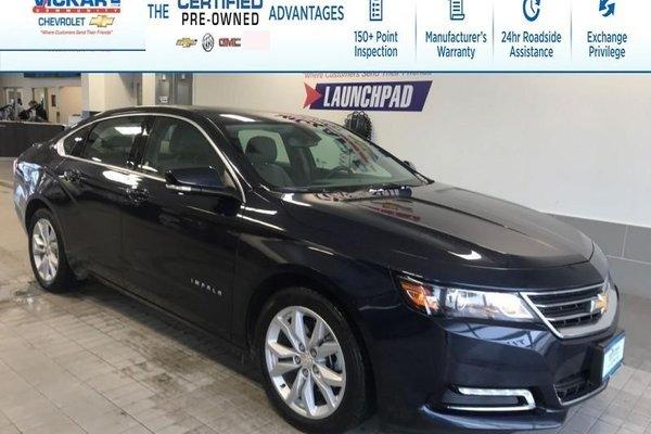 2018 Chevrolet Impala LT V6, LEATHER, SUNROOF, REMOTE START   - $171.59 B/W