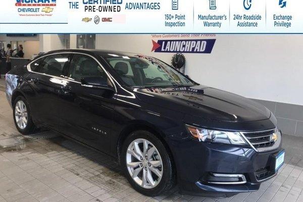 2018 Chevrolet Impala LT V6, LEATHER, SUNROOF, REMOTE START !!!  - $170.11 B/W