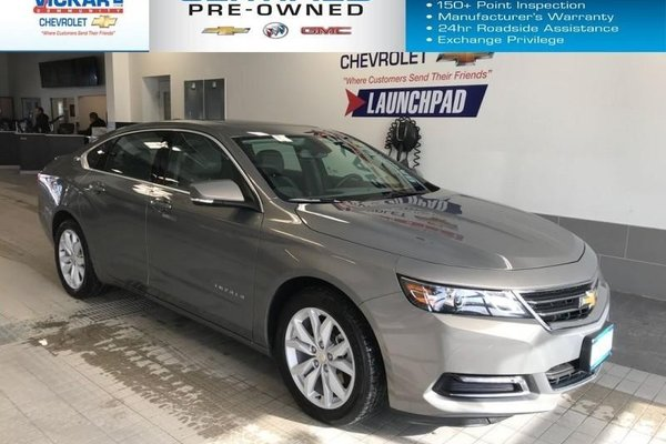 2018 Chevrolet Impala LT SUNROOF, HEATED SEATS, LEATHER INTERIOR  - $181.05 B/W