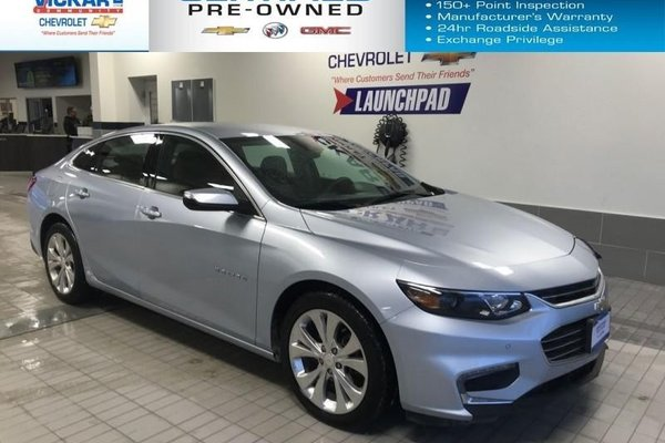 2017 Chevrolet Malibu Premier NAVIGATION, BOSE AUDIO, LEATHER HEATED SEATS  - $153.97 B/W